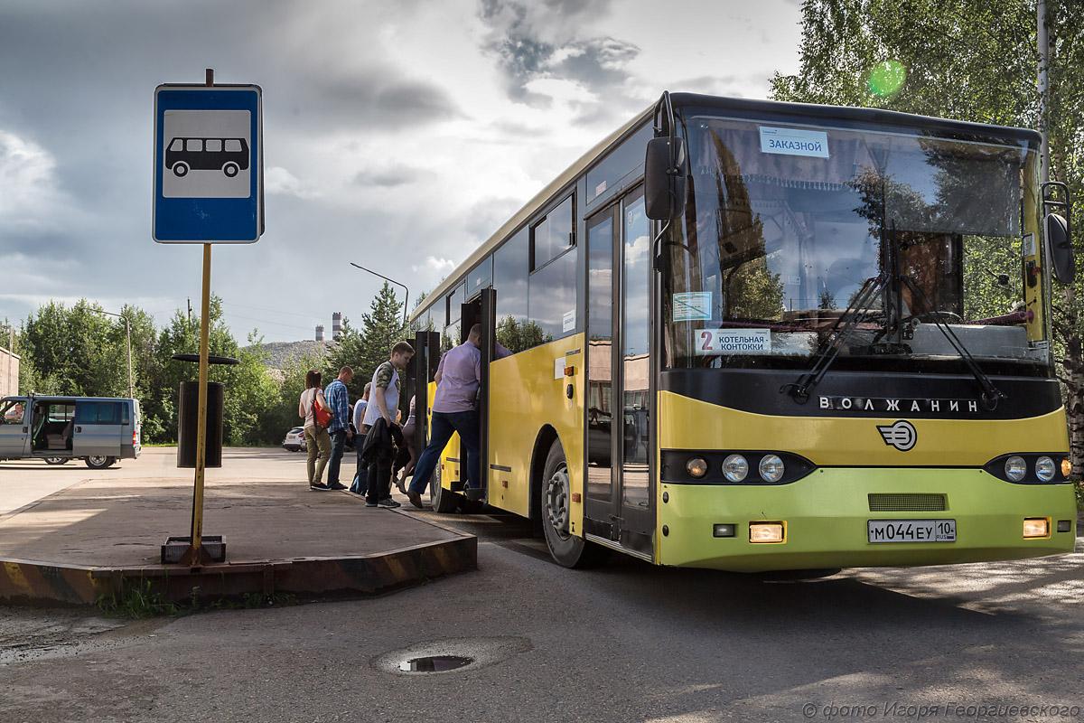 автобус карельский окатыш