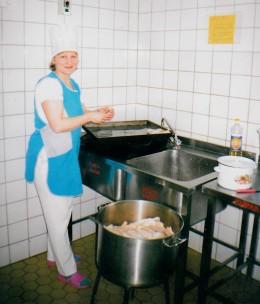 Елена Викторовна на рабочем месте, 2012 год