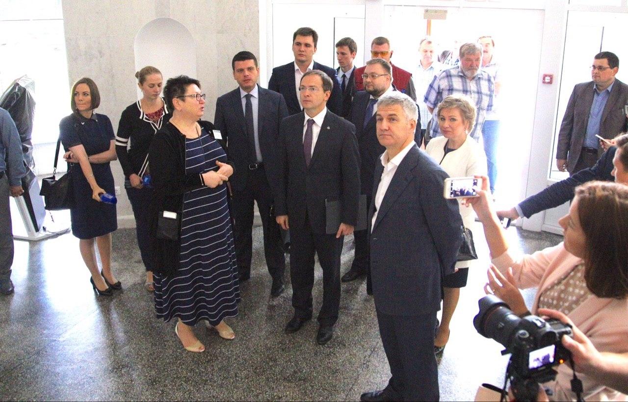Мединский, Парфенчиков, министр культуры