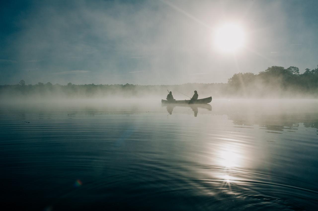 рыбаки озеро Пиксбэй