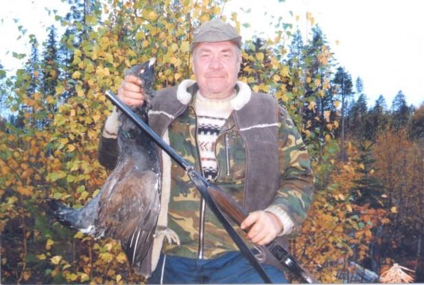 Владимир Бучной на рыбалке