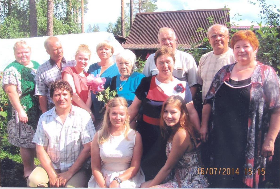Семья Бучных-Никитиных