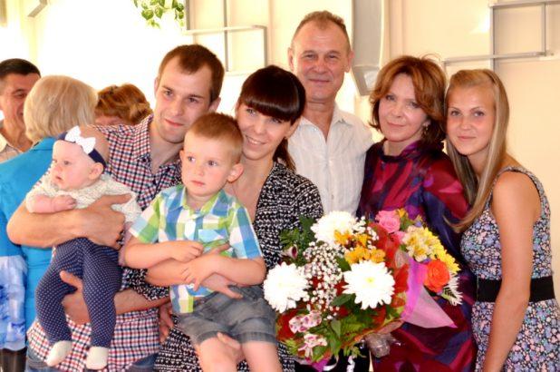 Красавцевы. День семьи, 2014 год
