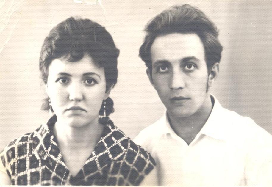 Основатели трудовой династии, г.Рудный, 1966 год.