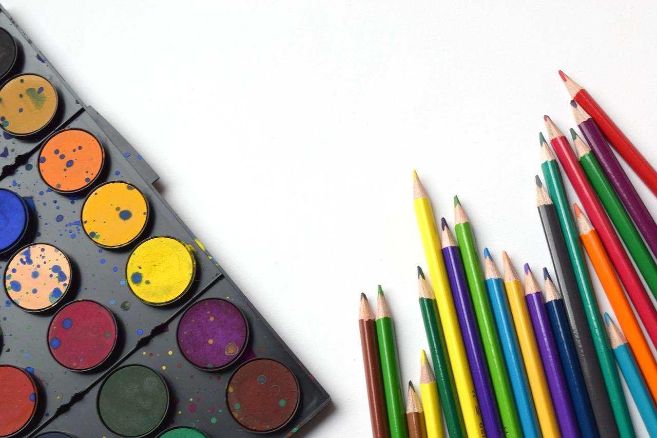 краски рисунок дети piksabaj