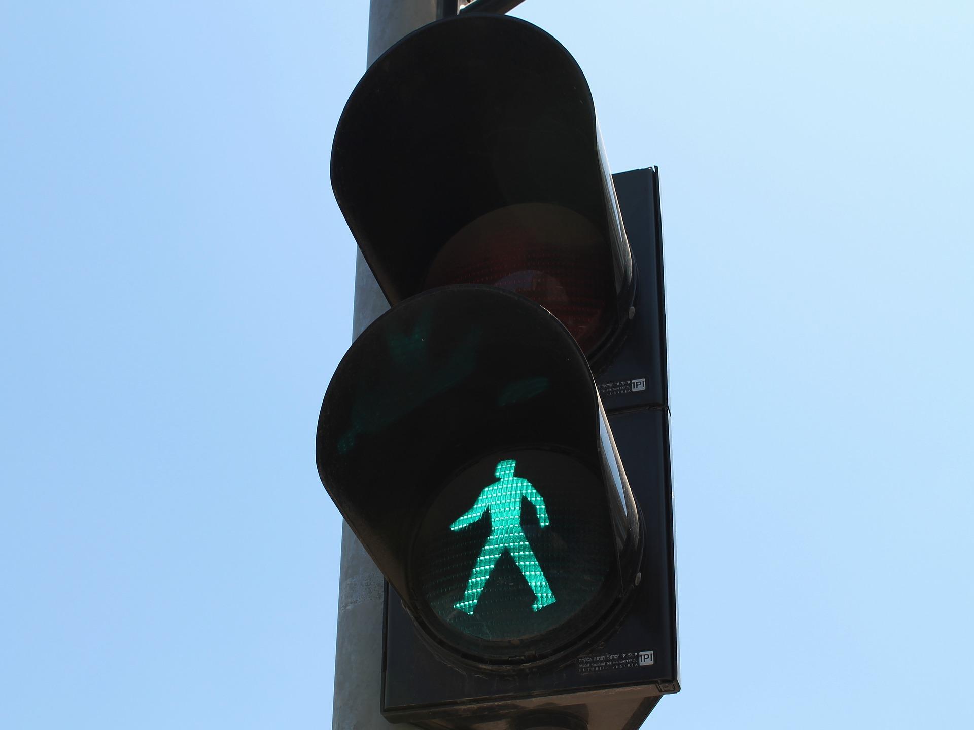 светофор пешеход piksabaj