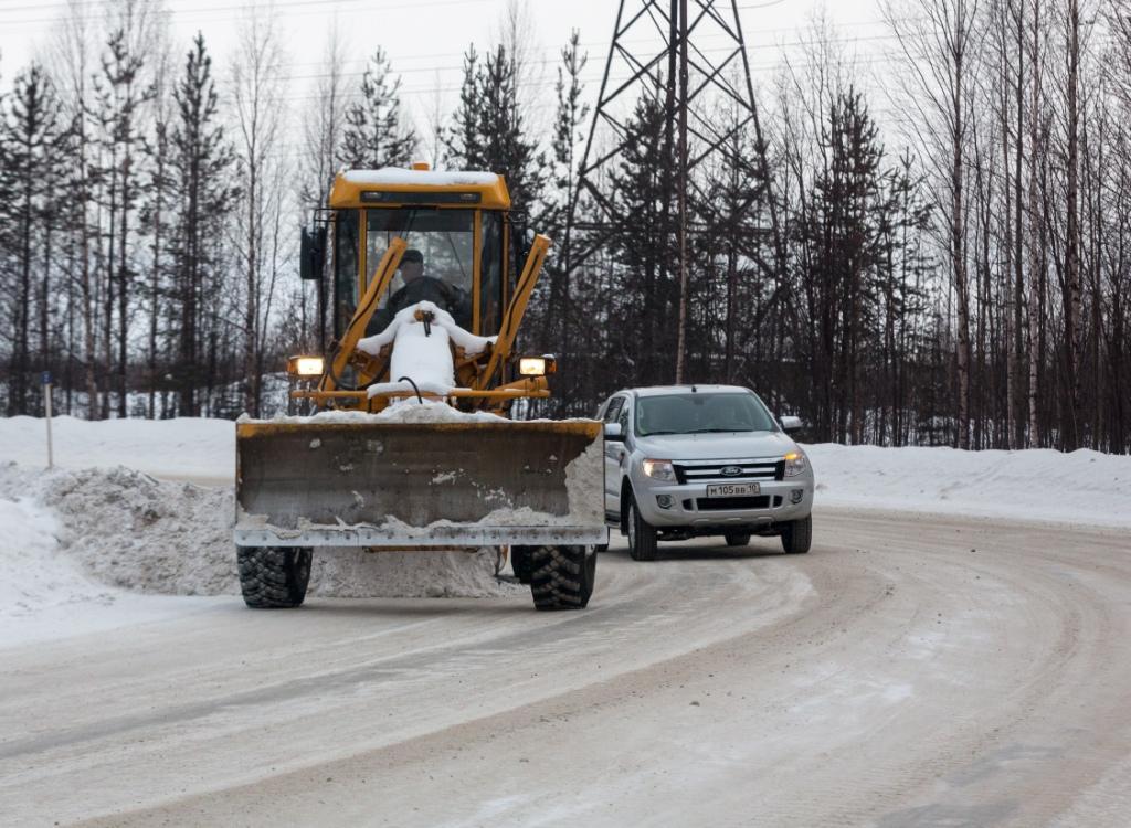 дороги зима георгиевкий