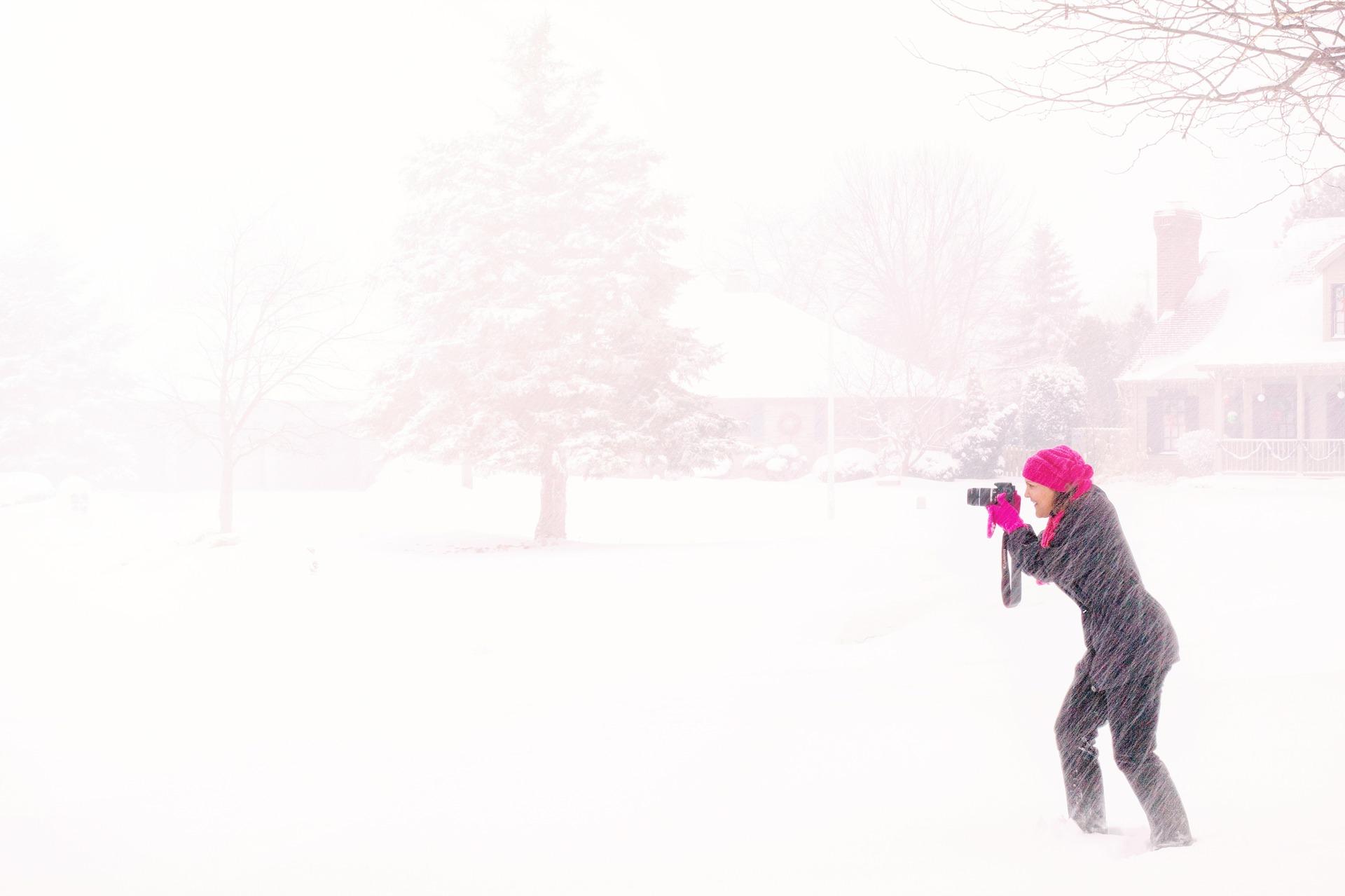 зима метель пиксабай