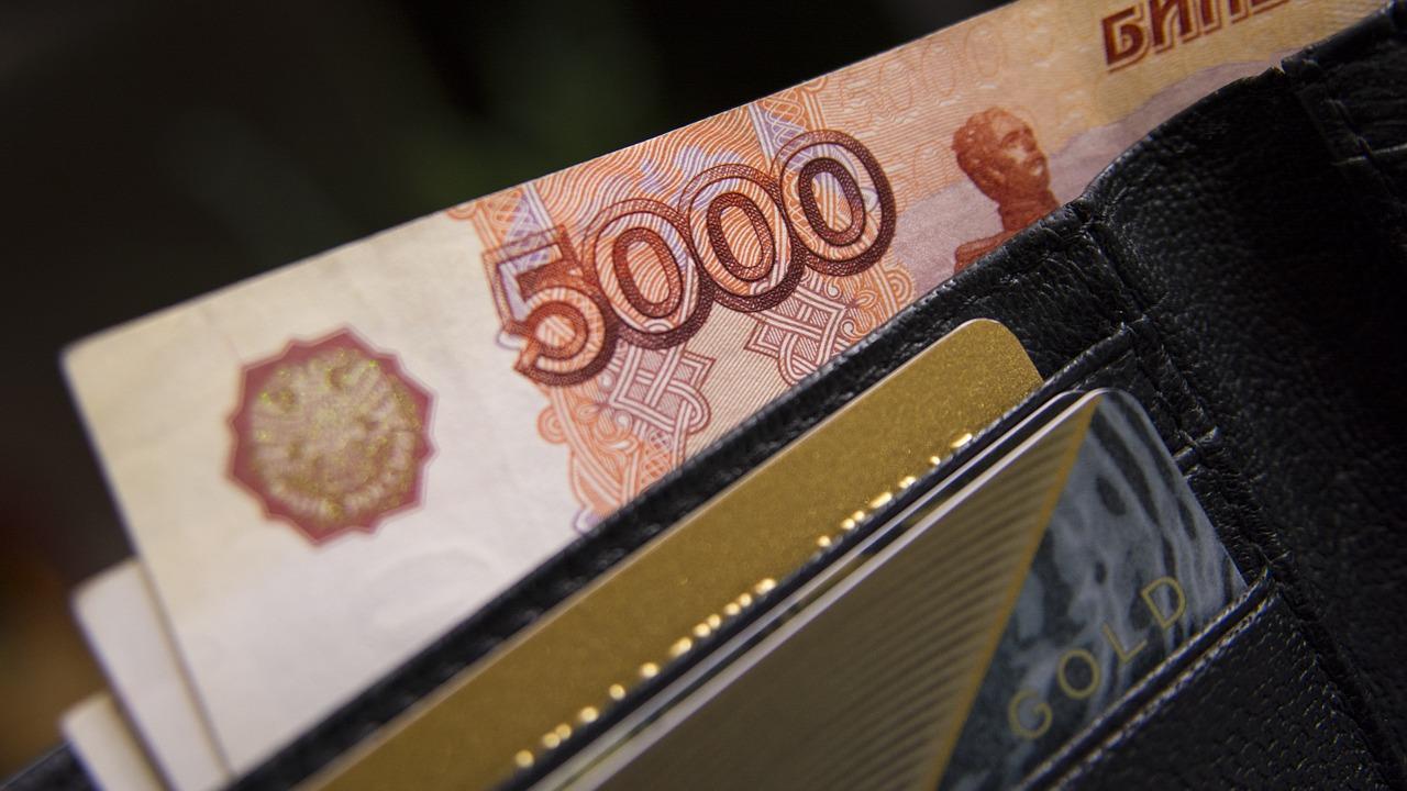 кошелек рубли пиксабай