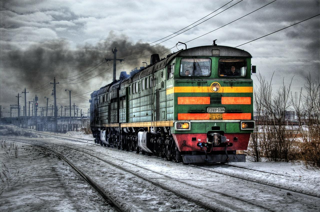 ржд поезд пиксабай