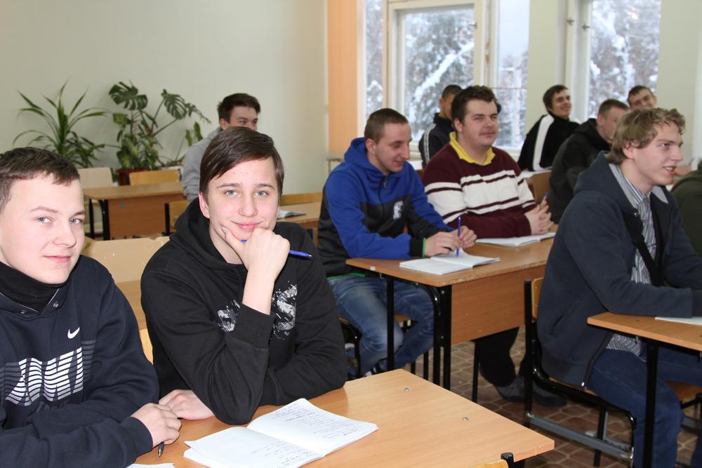 Визит Воробьева в колледж