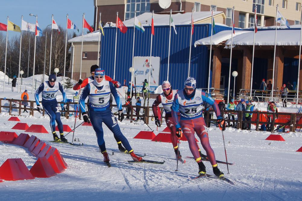 первенство России по лыжным гонкам