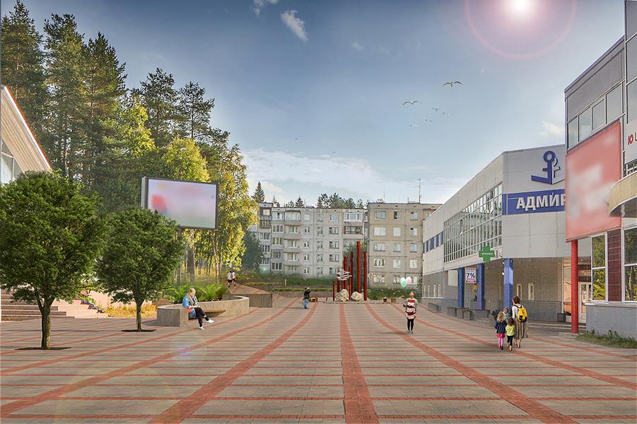 бульвар Лазарева новый