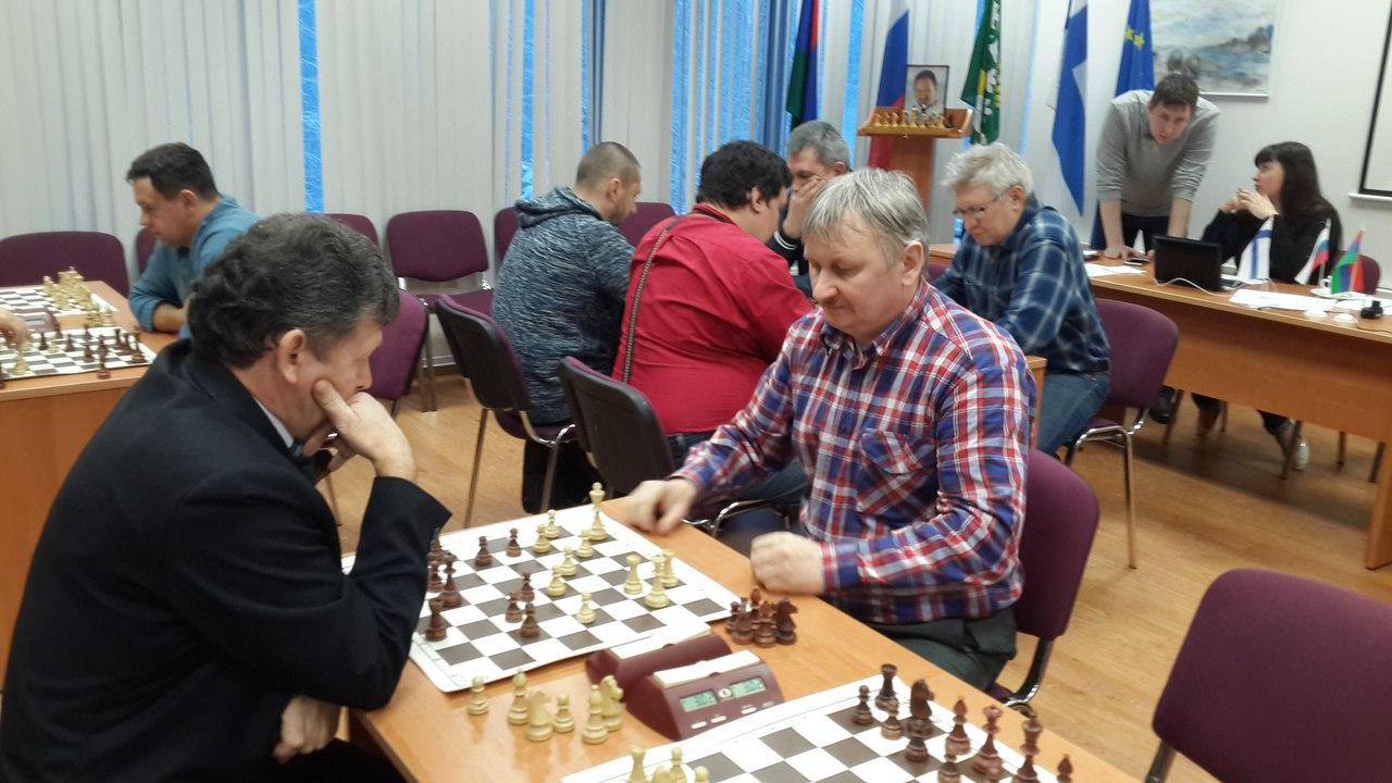 Чемпионат Костомукши по шахматам 2017