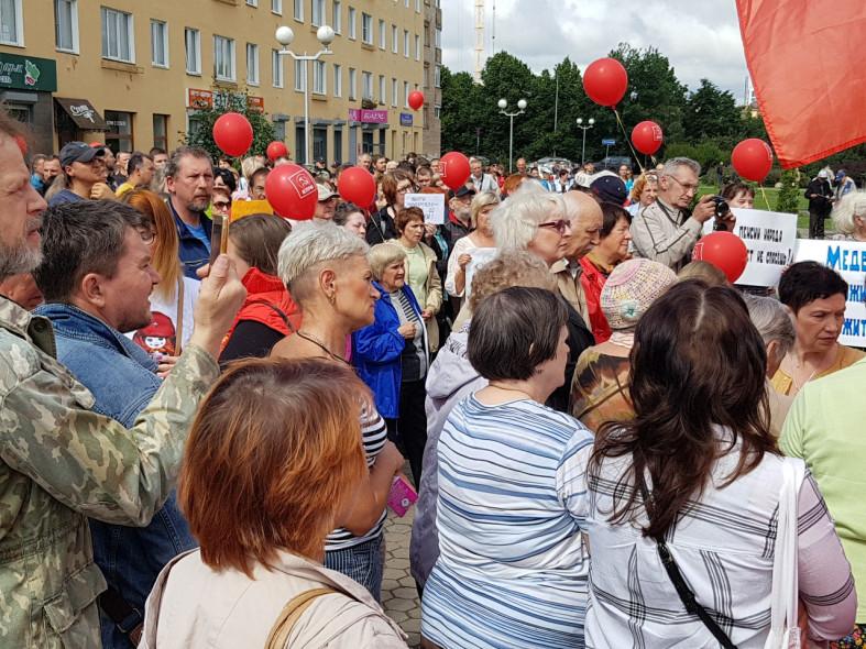 митинг Петрозаводск