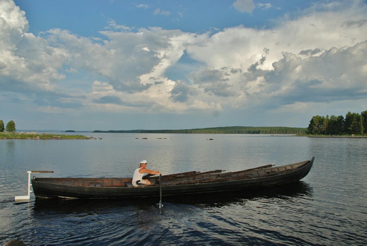 лодка вокнаволок