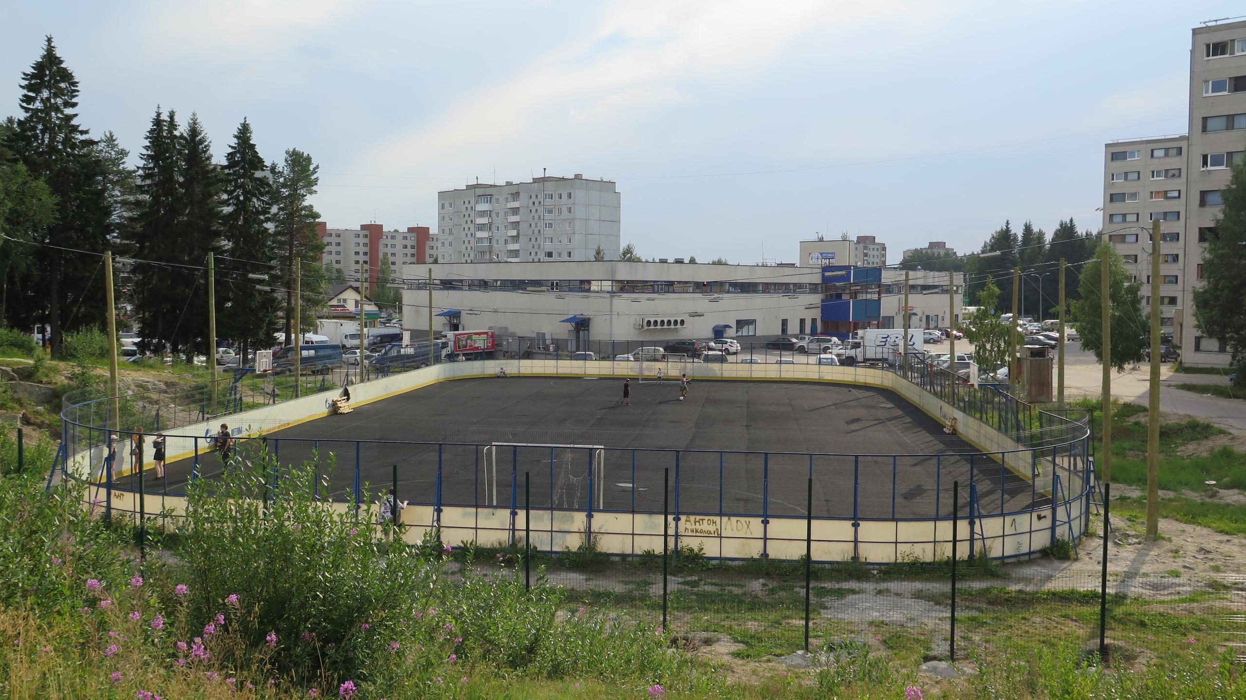 газпромовская площадка