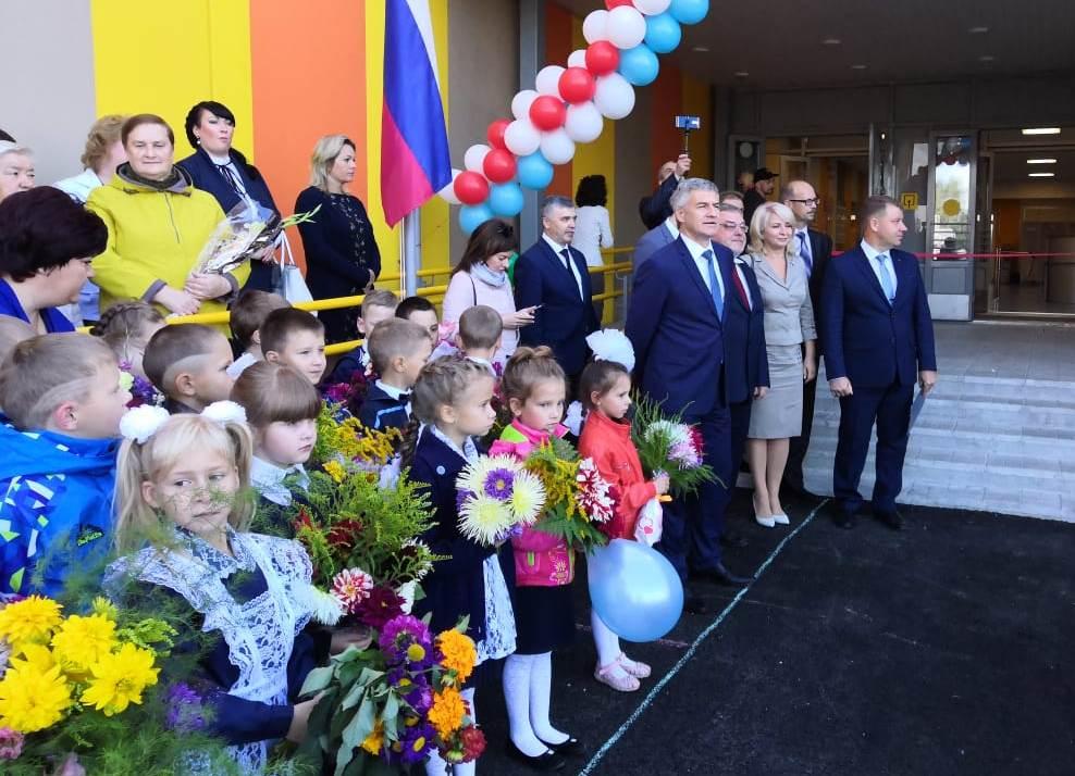 открытие школы в Ледмозеро