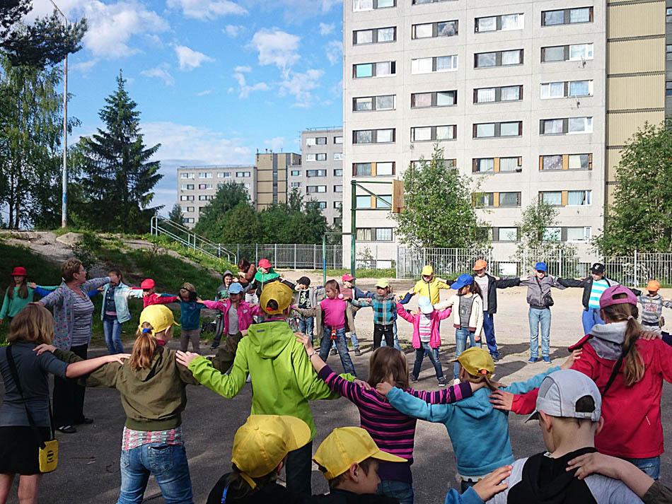 лагерь ЦВР дети