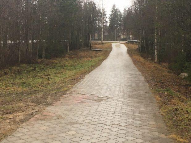 контокки тротуар дорожка