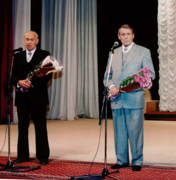 Два директора. Игорь Гетало и Николай Ершов