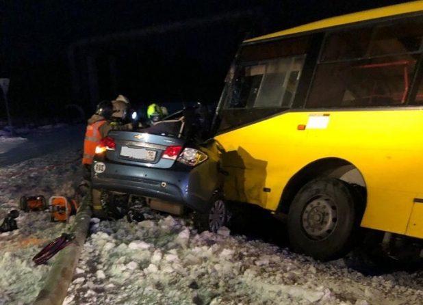 """ДТП на дороге """"город - ГОК"""" 5 декабря 2018 года"""