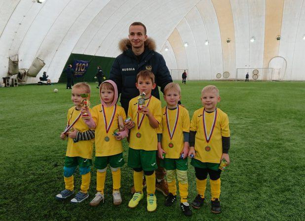 футбол дети новгород Артем Чистяков