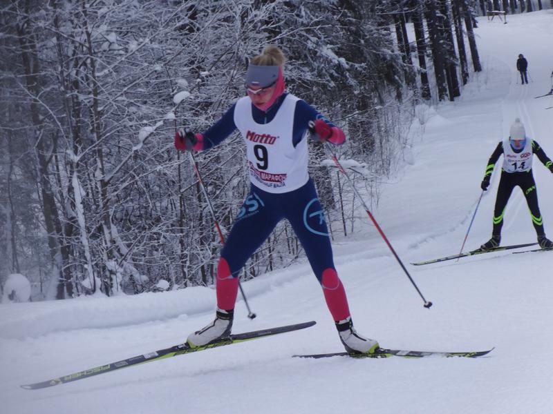Богданова лыжи