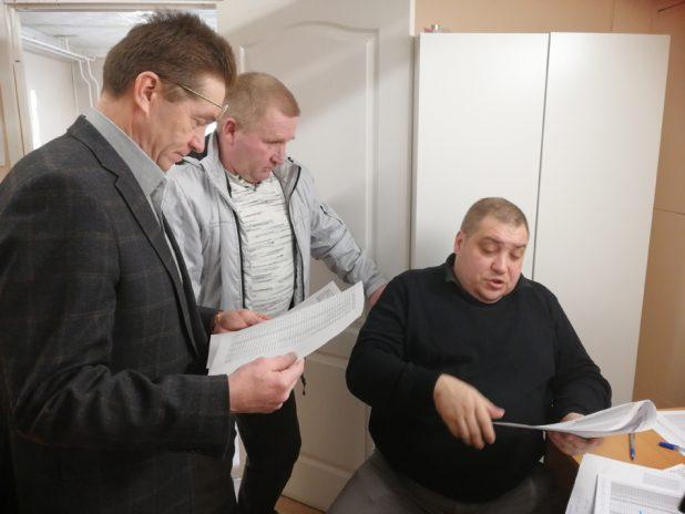 Виктора Сахнов, Владимир Возжунин, Алексей Дорофеев