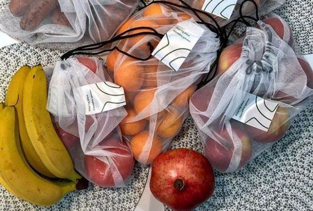 фрукты, овощи в экомешках