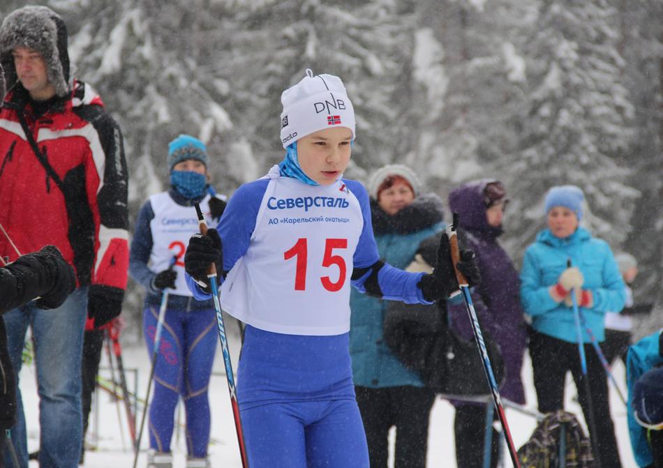 Макар Дмитриев лыжи