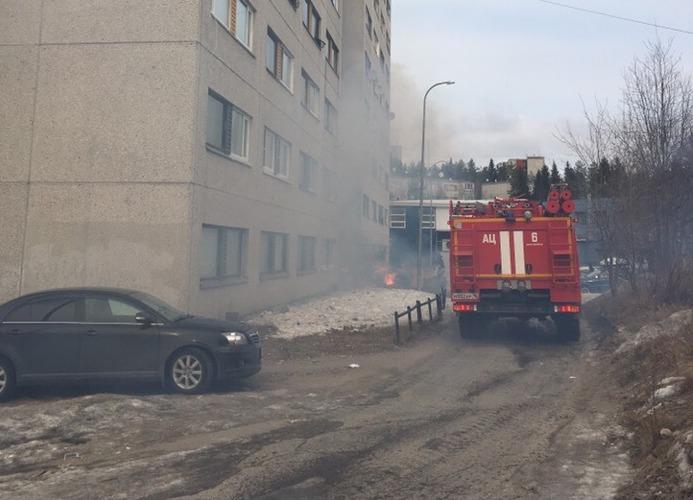 пожар общежития