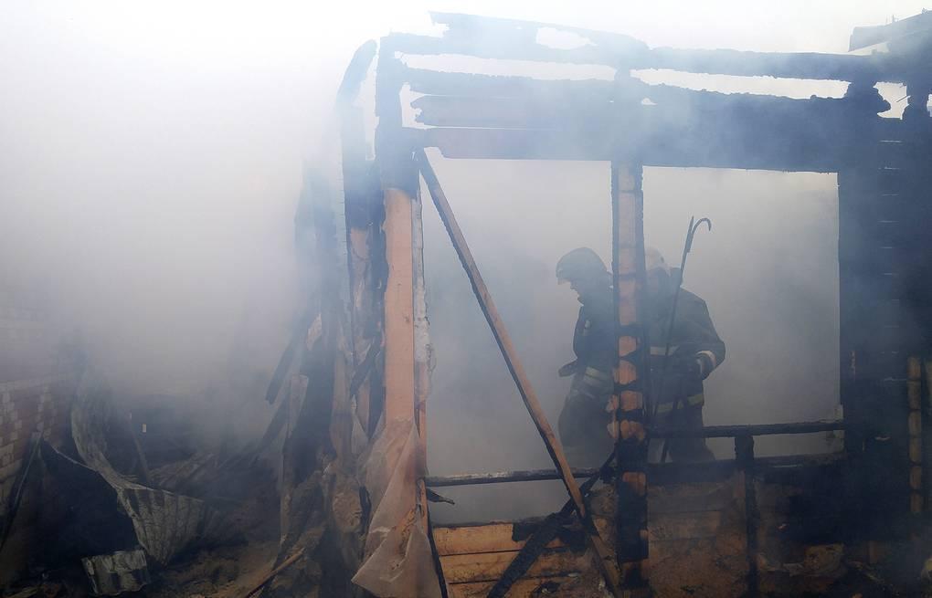 пожар в Ледмозеро
