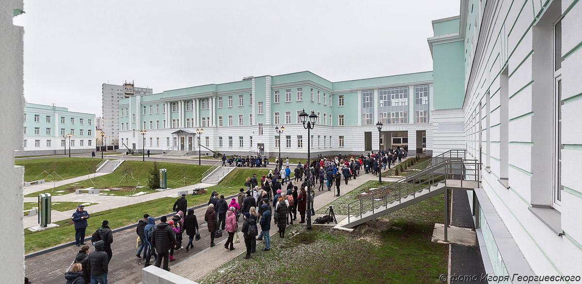 кадетское училище фото Игоря Георгиевского