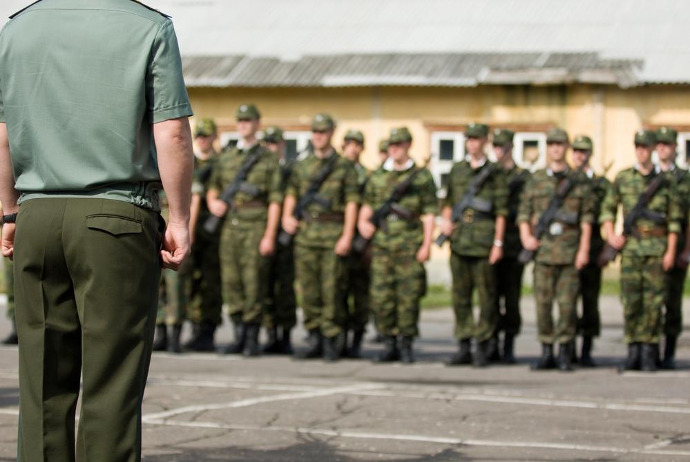 армия лето солдаты призывники
