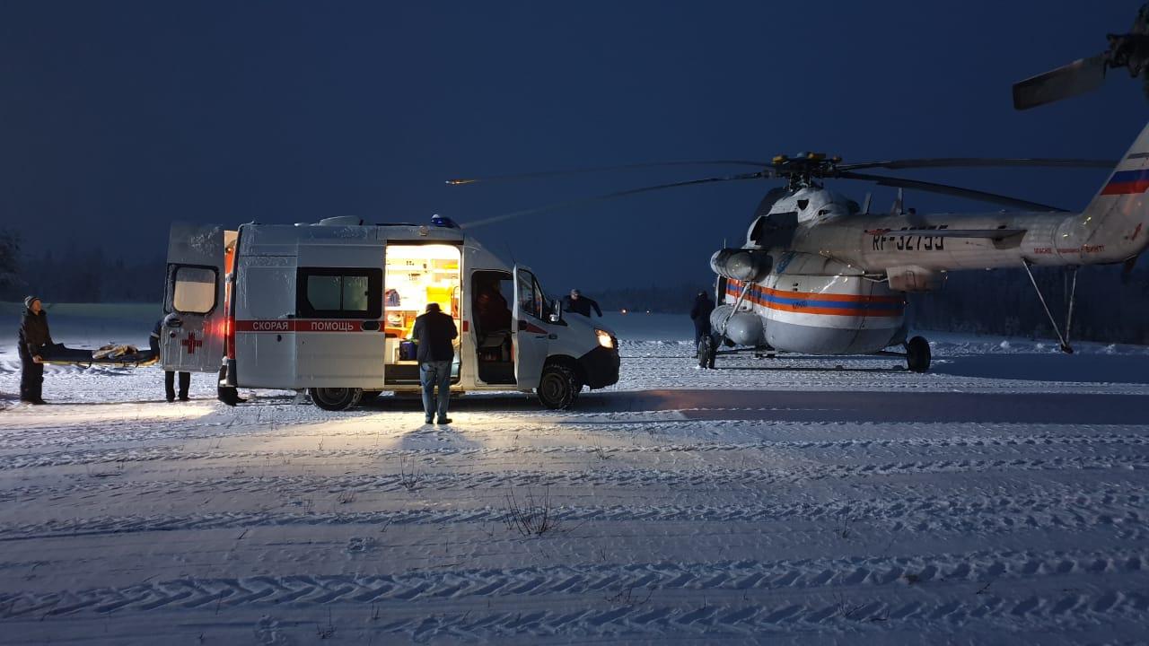 вертолет мчс, фото со страницы парфенчикова