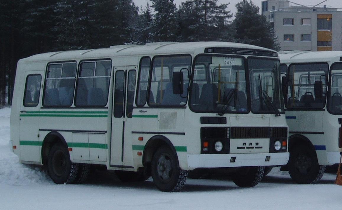 автобус зима