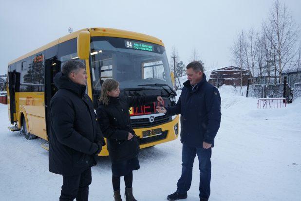 автобус новый