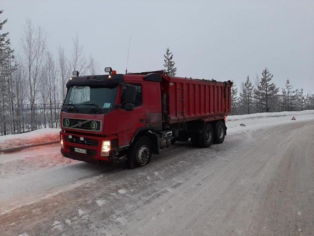 вольво грузовой автомобиль