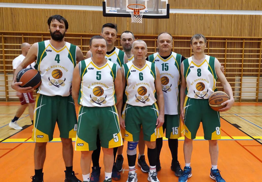 баскетбол ветеран