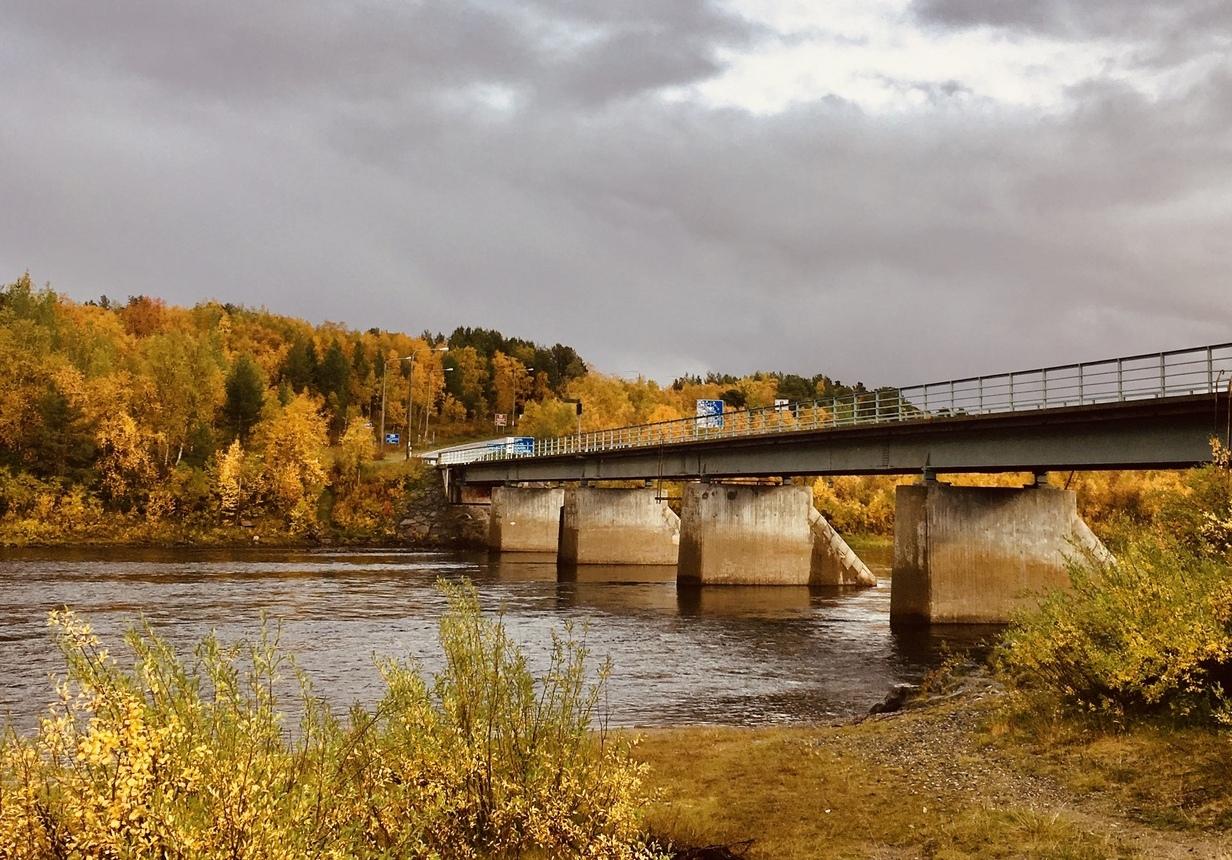 природа мост граница