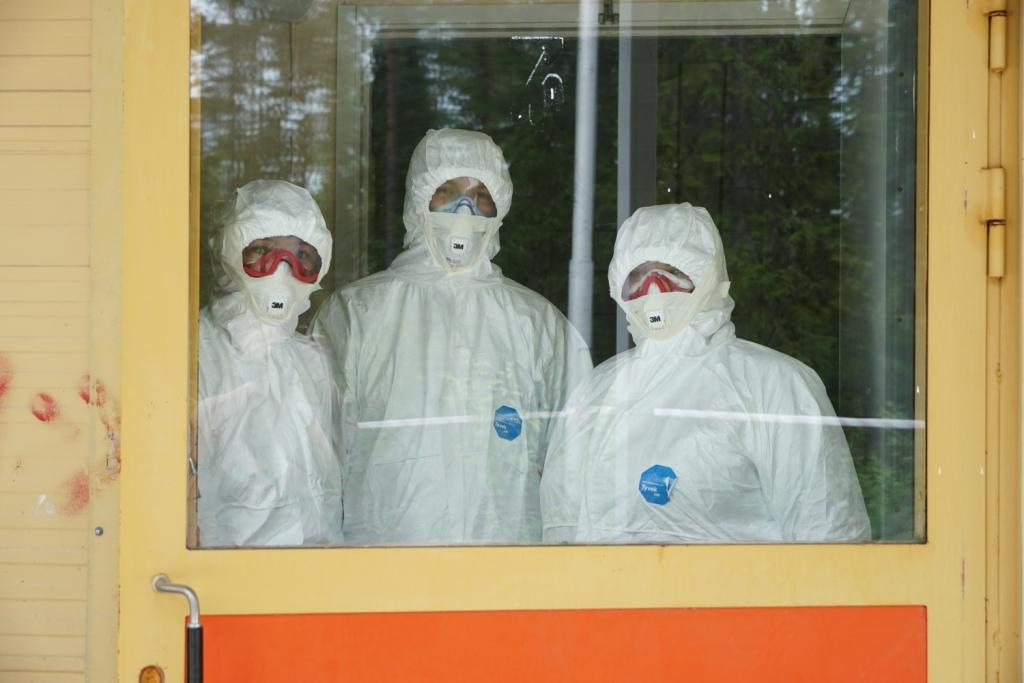 Костомукша инфекционное отделение коронавирус больница