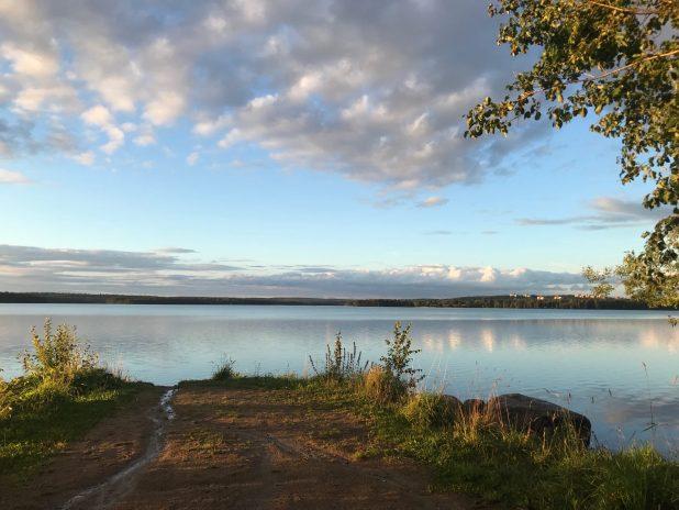 озеро Контокки Костомукша