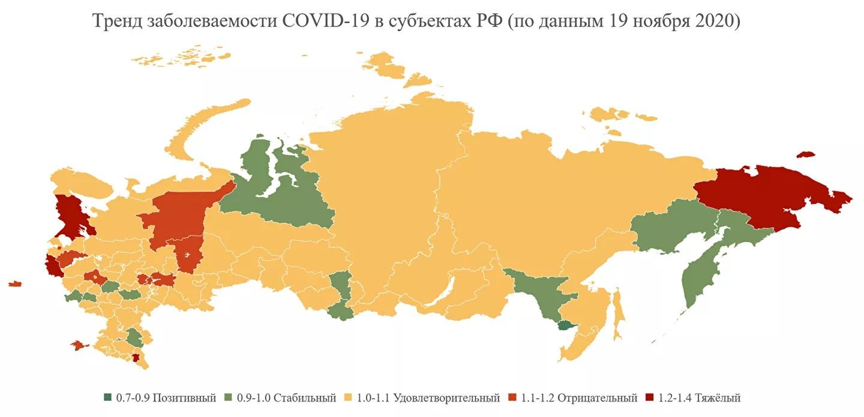 Агаси Тавадян. Карта распространения COVID-19