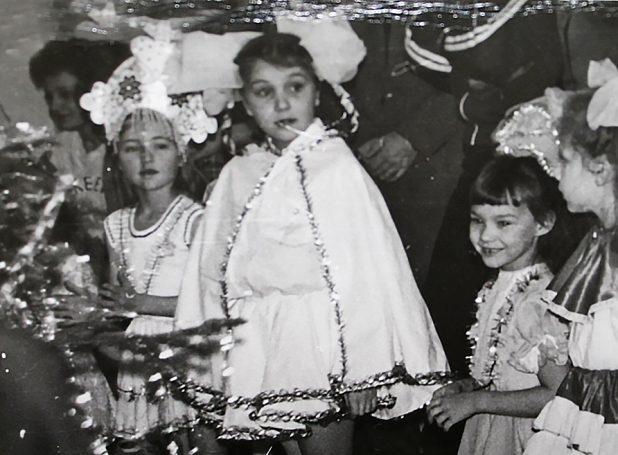Костомукша ДК площадь 1990 год
