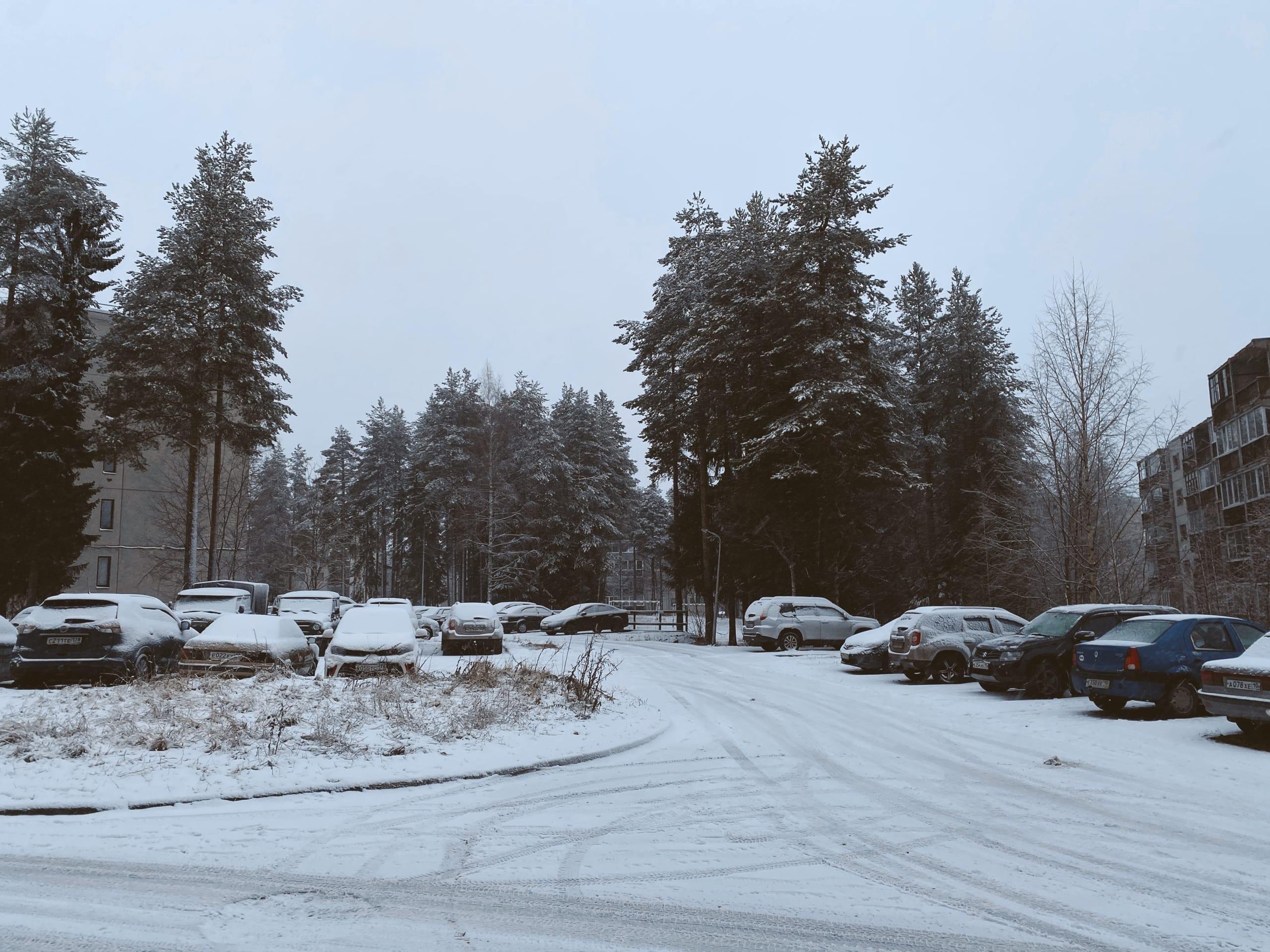 Костомукша погода зима снег