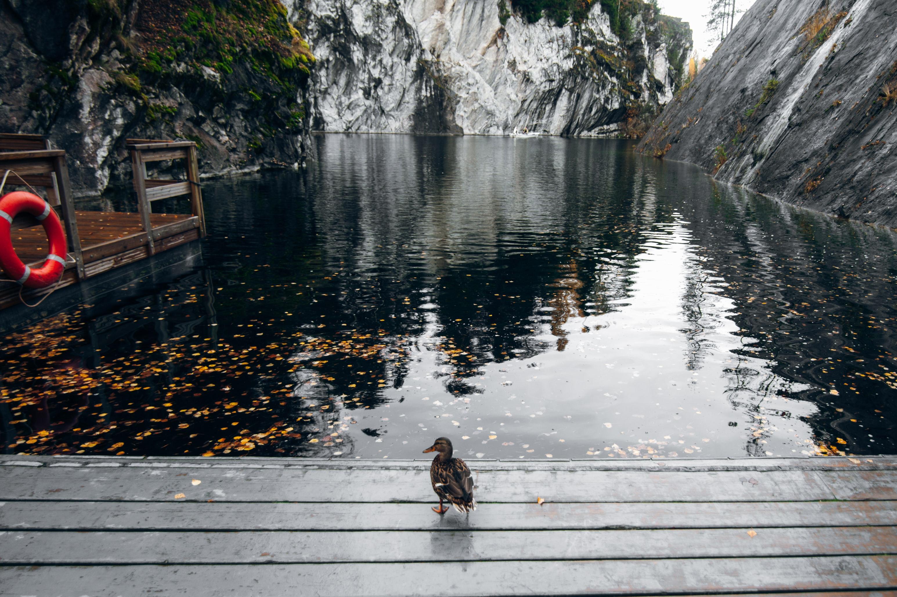 Карелия Рускеала туризм горный парк мраморный каньон