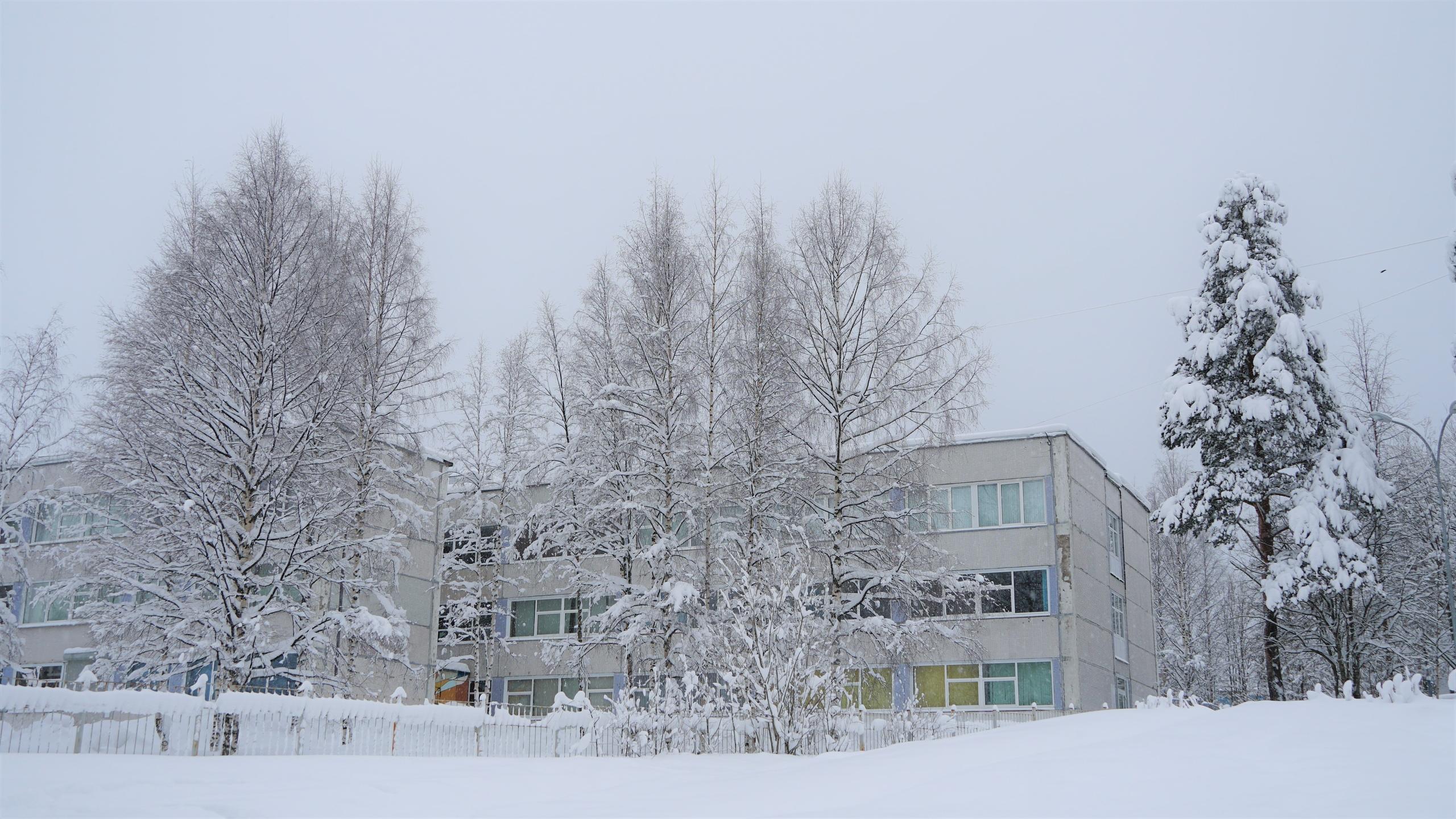 Костомукша вторая школа СОШ №2 Пушкинская школа