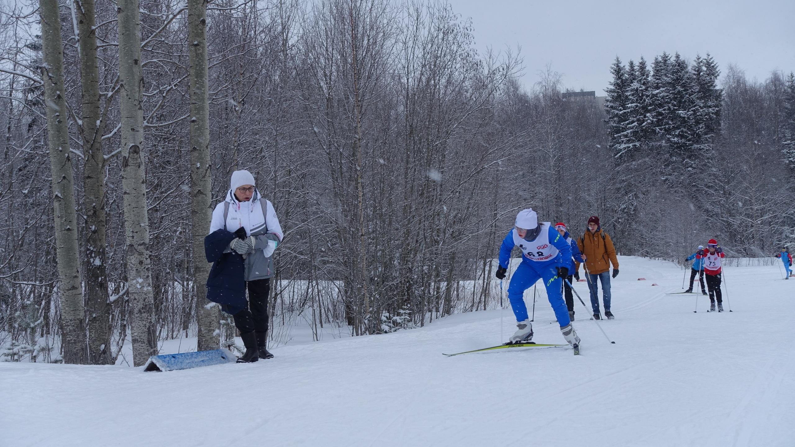 Костомукша Илона Майдан лыжный спорт
