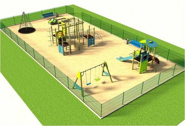 Дизайн-проект детской площадки в Контокки